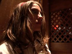 Jena Haze fucks the church father