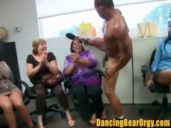 Jasmines Going Away Party Strippers at Office