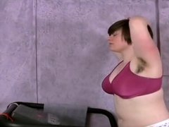 The 5'0 PAWG ShortHair Workout !!!