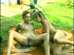 Sioban Irena 2 Hot Lesbos Get Each Other