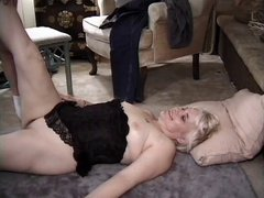 Mature Couple fucking on carpet