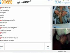 Omegle 85 (Girl continues cumming after i cum)