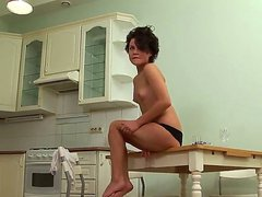 Short haired petite teen Dasha D