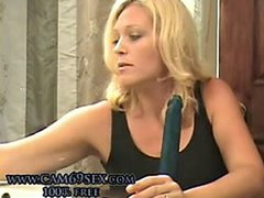 JOI Real milf housewife jerk off instructions