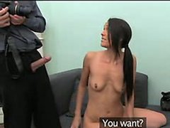 Spanish amateur fucks in casting