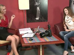 Hot casting session with gorgeous girl