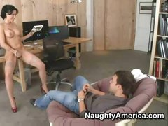 Zoey Holloway gives her student a better lesson in fucking
