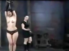 Sadistic Lesbian BDSM Training and Humiliation of Slave