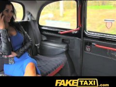FakeTaxi Exotic stunner in office break taxi fun
