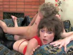 Russian Guy With Sissy Crossdresser russian cumshots...