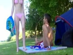 British teen shagged