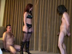 Ass Worship AND Ballbusting ... !!!