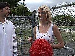 Quickie With Hot Cheerleader