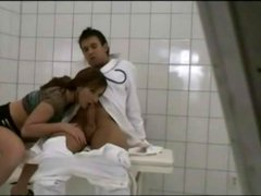 Pictures taken of doctor and patient fooling around