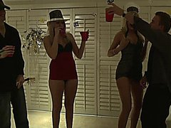 Darcy Tyler enjoyed the party with her friends