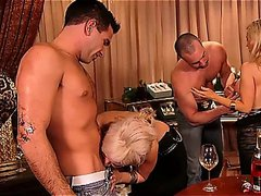 Foursome or fivesome after drinking some wine, great fuck
