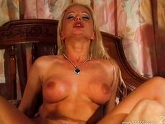 Blonde Silvia Saint fuck in all holes