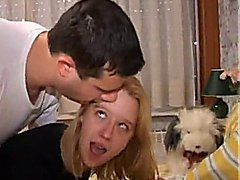 Young blond first time anal