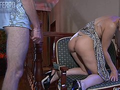 russian mature milf seduced young boy