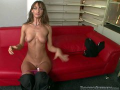 Cynthia Avalon is a naughty teen that loves showing her