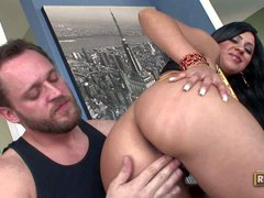 Mariah Milano is a horny sexy brunette with long dark
