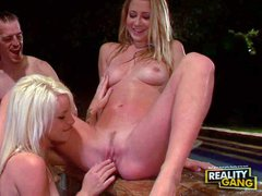 Mandy Armani and Stevie Shae are two bisexual babes that