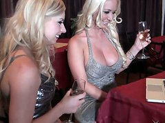 Lexi Belle and Molly Cavalli are