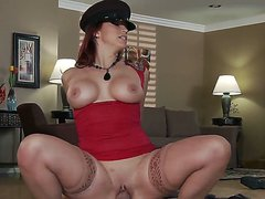The big titted widow Nicki Hunter
