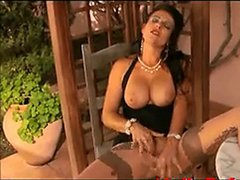 Hot Mature Solo Action