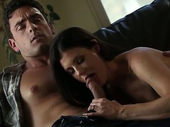 Beautiful dark haired milf India Summer
