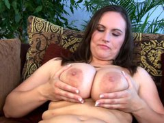 Brunette Olarita is a juicy BBW mommy with massively huge