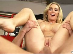 Charming big titted mom Tanya Tate in in her son's