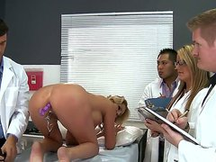 Doctor Ramon has a lesson at