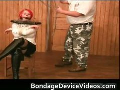Knockers titties and Red Wig super bdsm