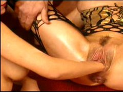 HOT MILF GETS FISTED,CUMMED ON AND DOUBLE PANETRATED!!!