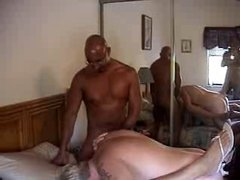 mature couple in sex party