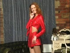 British slut Wendy plays with herself in various scenes