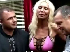 Blonde hooker makes deal for sex with two guys'