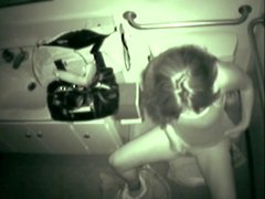 A girl caught masturbating in toilet by twistedworlds
