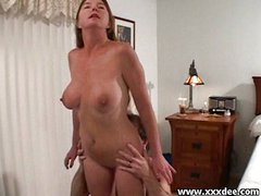 Busty mature slut prefers oral foreplay