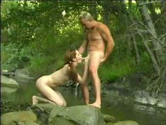 Gwen Summers Fucked near a Flowing Stream by snahbrandy
