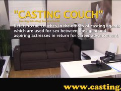 Casting - Anal and a shot in the eye