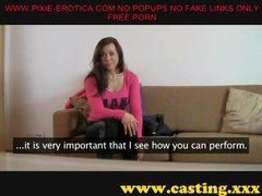 iveta orgasms hard on the casting couch