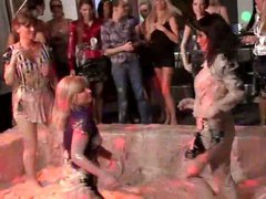 Lesbians having a WAM private party