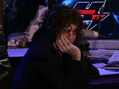 Heidi Cortez rides the Sybian on Howard Stern