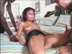 Daniella Rush Interracial Threesome