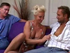 Naughty MILF Shares Pussy With Friend