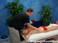 Cute Teen gets Massage and More
