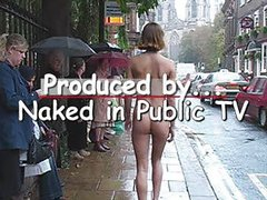 British Louise NIP - Naked in Public