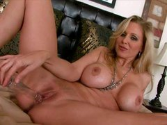 Alluring blonde milf with an amazing body and big breasts